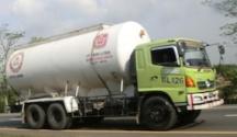 Karoseri truk tangki semen